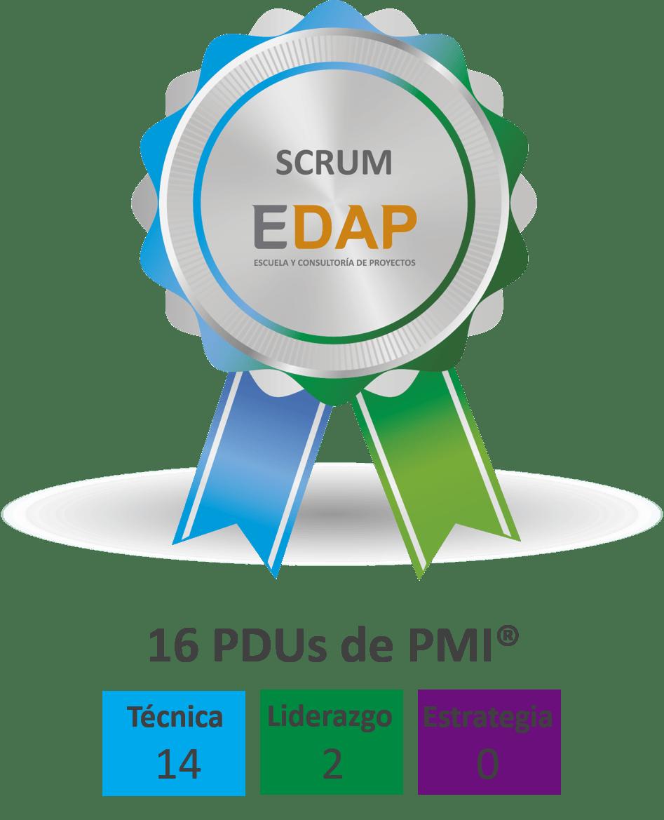 EDAP - Insignia SCRUM con PDUs